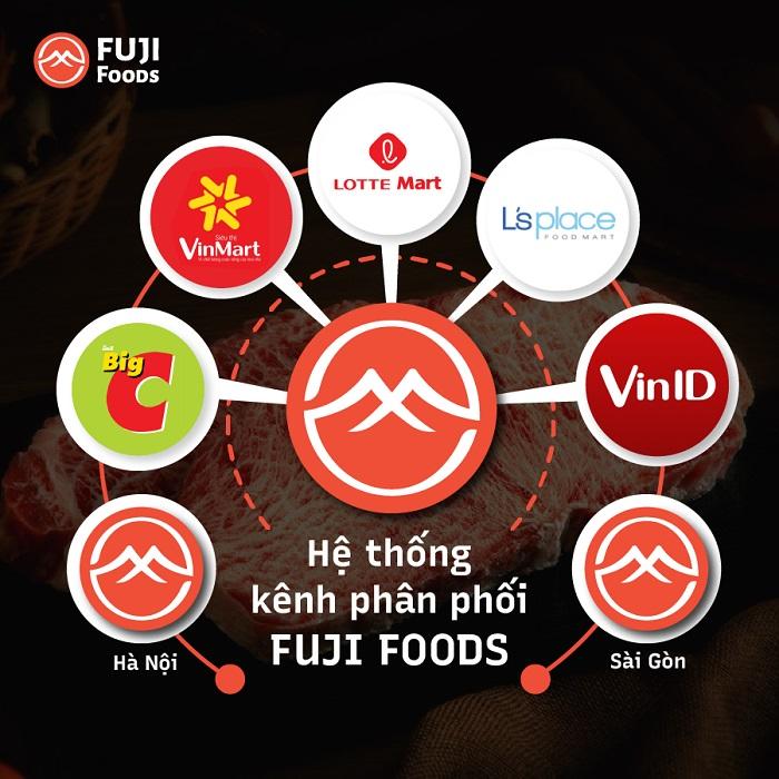 Hệ thống phân phối FujiFoods