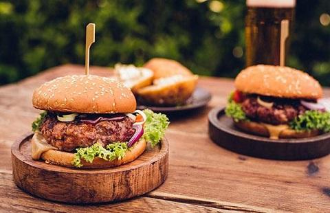 Công thức món Burger bò Fuji với sốt Teriyaki