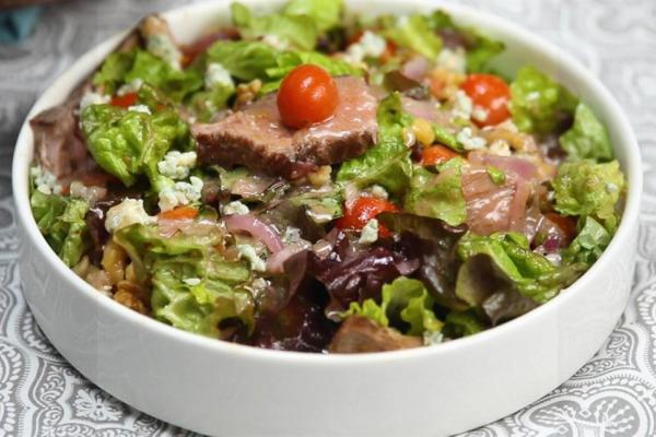 Công thức salad thịt bò